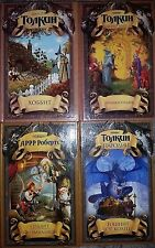 Lot 4 Russian Books Tolkien Hobbit Encyclopedia Parodies Children Collection Old
