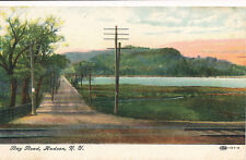 BAY ROAD, HUDSON, N.Y. MT. MERINO. RAILROAD TRACKS. HUDSON RIVER VIEW.