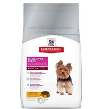 Hill's Science Diet Small & Toy Breed Dry Dog Food 4.5 lb