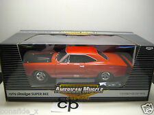 ERTL AMERICAN MUSCLE 1969 DODGE SUPER BEE 1:18 ERTL RC2
