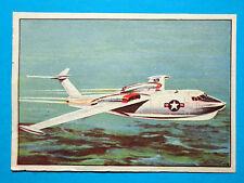 MICROSTORIA DELL'AEREO 1959 INTREPIDO-Figurina-Sticker n.26-SEAMASTER A REAZIONE