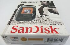 New Sandisk Sansa Clip Sport 8GB MP3 Player (Black) # SDMX24-008G-A46K