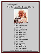 Tito Puente - OYE COMO VA - 16 pce Big Band Chart,  Charles Colin Publications