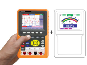 100Mhz 2 Channel Handheld Oscilloscope with Lithium Battery HDS3102M-N