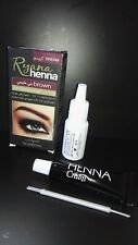 Professional RYANA henna for eyebrows Brown temporary henna tattos beauty color