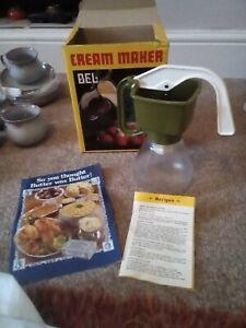 Green Plastic Bel Cream Maker Still Boxed