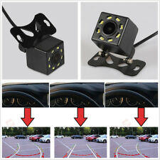 Waterproof 170° Intelligent Dynamic Trajectory Autos Reverse Backup Camera 8LED