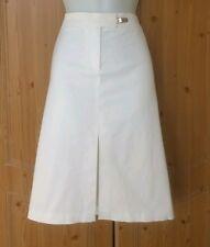 Warehouse Midi Skirt Size 12 White A Line Pencil Secretary Wiggle