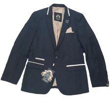 Completi e abiti sartoriali da uomo regolanti blu cotone