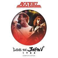 ALCATRAZZ - LIVE IN JAPAN 1984-COMPLETE EDITION (DVD+2CD)   DVD+2CD NEW+
