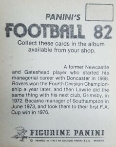 Panini Football 82 Stickers (1-250) - Complete Your Collection