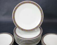 "Set of 2 Franciscan Constantine Dinner Plates 10 1/2"" High Quality"