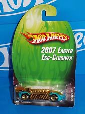 Hot Wheels 2007 Easter Egg-Clusives Series Krazy 8s Aqua