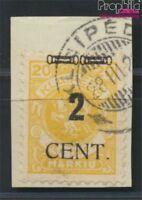 Memelgebiet 184 geprüft gestempelt 1923 Aushilfsausgabe (8984788