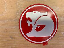 RED 185 KW HSV BADGE SET SUIT VN/VP/VR/VS SERIES CLUBSPORT