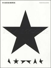 David Bowie Blackstar Piano Vocal Guitar Music Book PVG Lazarus Sue Black Star