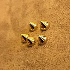 Authentic Christian Louboutin Spikes Gold studs replacement strass pik pik