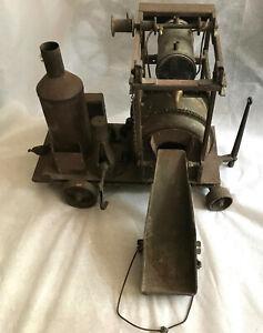 1926 Vintage Huge Original BUDDY L Steel CONCRETE CEMENT MIXER Parts Restoration