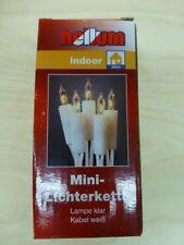 Mini Lichterkette 10er weiß/klar mit 15 cm Abstand
