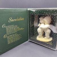 Bulgari Department 56 Winter Tales of The Snowbabies I Need A Hug Statue
