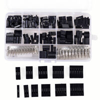 620pcs Dupont Wire Jumper Pin Header Connector Housing Kit and M/F Crimp Pins