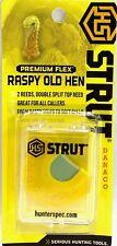 H.S. Strut Turkey Mouth Diaphragm Call Premium Flex Raspy Old Hen 05903