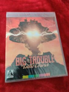 BIG TROUBLE IN LITTLE CHINA BLU RAY ARROW VIDEO NEW SEALED
