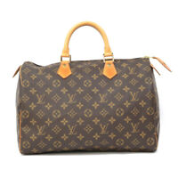 LOUIS VUITTON Handbag M41524 Brown Boston bag Monogram Speedy 35 from japan