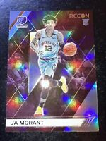 2019-20 Chronicles Recon Ja Morant RC #298 Memphis Grizzlies Rookie Of The Year!