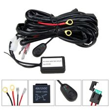 40A 12V 2Lead Wiring Kit With Wireless Remote Control for LED Light Bar ATV SUV
