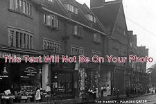 MI 107 - The Market, Palmers Green, Middlesex c1913 - 6x4 Photo