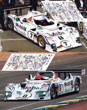 Calcas Porsche LMP1 98 Le Mans 1998 7 8 1:32 1:43 1:24 1:18 slot decals