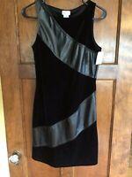 Arriane S NWT Black Stretch Sleeveless Black Fitted  Dress