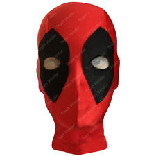 Deadpool Mask X-Man Costume Halloween Beanie Full Face Mask Red One Size Kids
