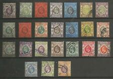 HONG KONG EVII SELECTION OF 24 MAINLY FINE USED SEE SCAN