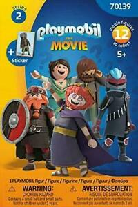 PLAYMOBIL THE MOVIE  FI?URES  70069 70139 SERIE 1 & 2 new in opened bag