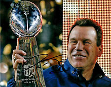 Gary Kubiak Denver Broncos Reprint auto signed football 8x10 photo Super Bowl