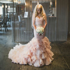 Sexy Mermaid Wedding Dress Sweetheart Bridal Ball Gown Custom Made Plus Size2-28