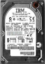 IBM TRAVELSTAR DBCA-206480 6.49GB IDE HARD DRIVE P/N: 21L9550  MLC: F22080