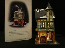 "Dept 56 Christmas in the City ""Wintergarten Cafe"" retired 1999"