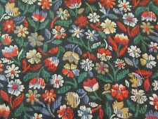 Fabric Floral Flower Garden Nature Cranston Folk Country Quilting
