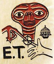 Original Vintage E.T. The Extra-Terrestrial  Movie Mini Iron On Transfer