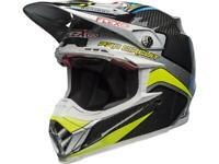 Casque Motocross BELL Moto-9 Flex Pro Circuit Replica 19 Carbone / bleu / gris