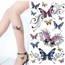 Flash Einmal Temporary Klebe Tattoo Schmetterling Butterfly Körper Body Geschenk