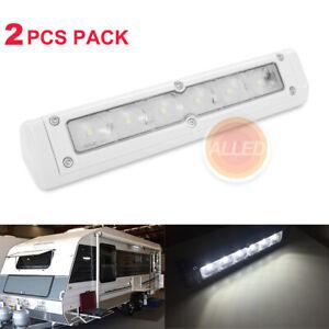 2X720lm LED Awning Annex Light 12v off road Bar Lamp RV Trailer Motorhome Boat