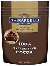 Ghirardelli 100 Percent Unsweetened Premium Baking Cocoa 8 Ounce 6 per case.