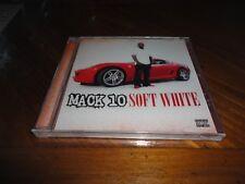 MACK 10 - SOFT WHITE West Coast Rap CD - Glasses Malone Lil Wayne Rick Ross 2009