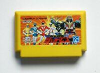 Famicom Choujin Sentai Jetman Japan FC game US Seller