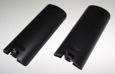 2 x Nintendo Wii Black Remote Controller Battery Cover Replacement