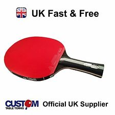 Blutenkirsche Black Mamba Table Tennis Bat + Free Bat Case + Rubber protectors